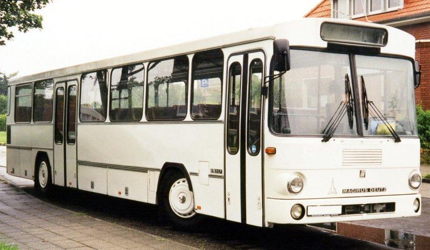 1979 Magirus-Deutz L117 Überlandbus