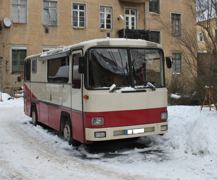 1980 Magirus 06 Bus