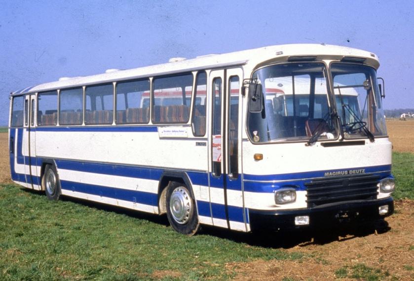 1980 Magirus Deutz TR120