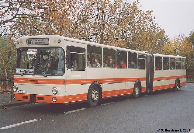 1980 Mercedes Benz Vetter O 305 G Gelenkbus 1980