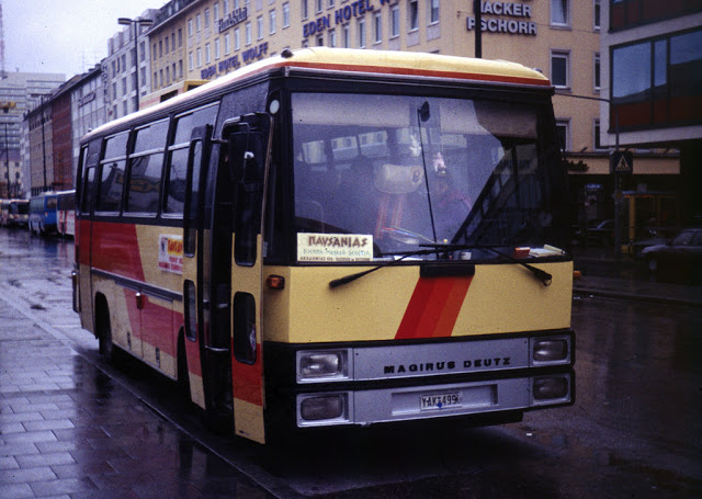 1981 Magirus Deutz Shortbus Greece