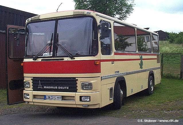 1981 Magirus R 81 Klein-Reisebus (Clubbus)