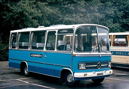 1981 Mercedes-Berkhof 3027 1 was Van Egmond 26