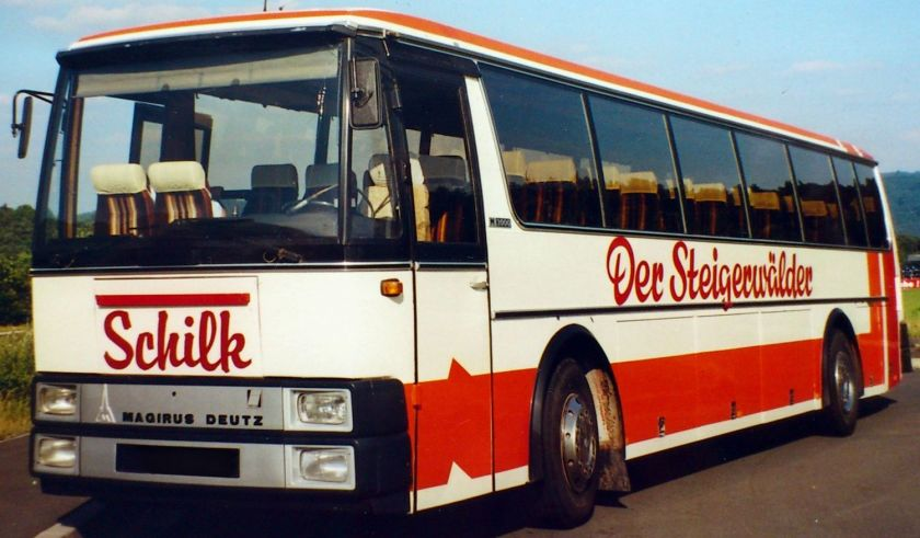 1982 Magirus-Deutz M2000 Bus
