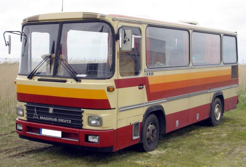 1982 Magirus R 81 T