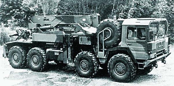 1982 MAN М1002 (27.365VFAE), 8x8