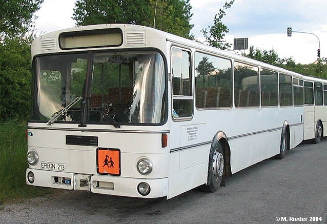 1983 Mercedes Benz Vetter O 307 Überlandbus