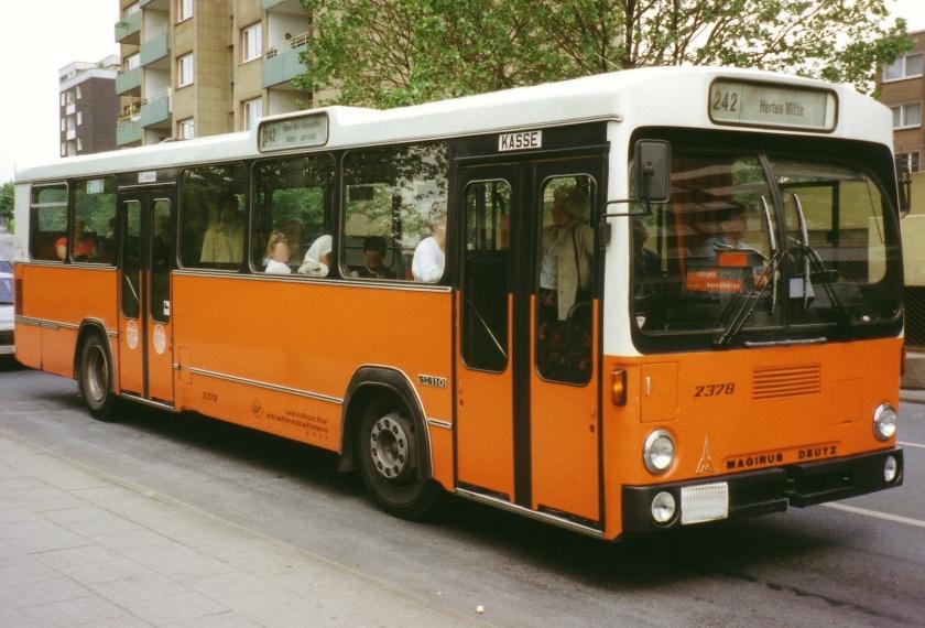 1984 Magirus Deutz SH110 Vestische Straßenbahn