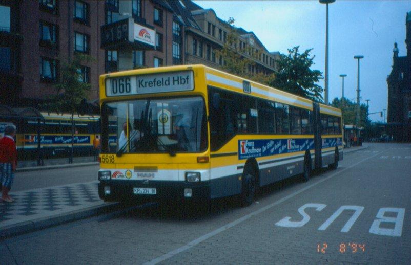 1985-90 Krefeld-MAN-SG242H-Bus5618