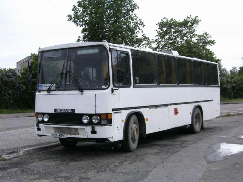 1985 DeltaPlan Scania 200 Estland