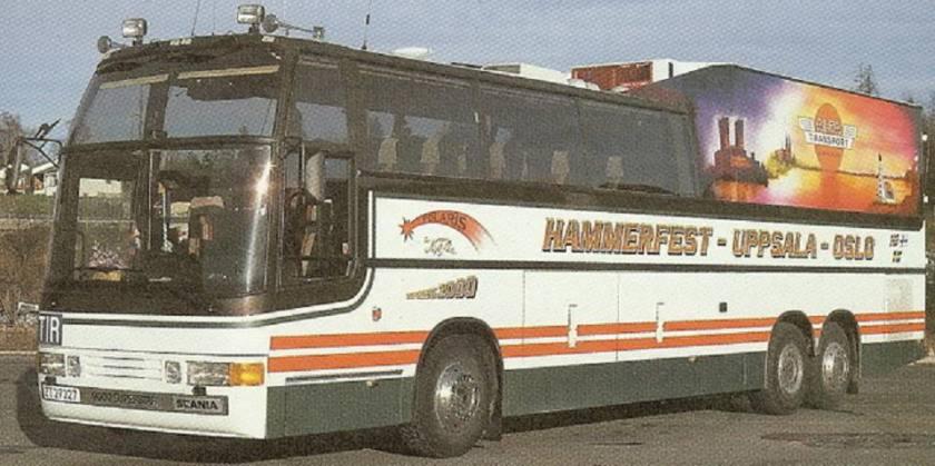 1985 Scania K112TL vin 1808209 Delta SuperStar 9000 Kombi