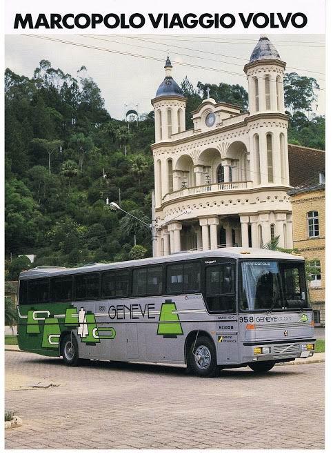 1986 MARCOPOLO Viaggio Volvo (MP-DIRPD-1)