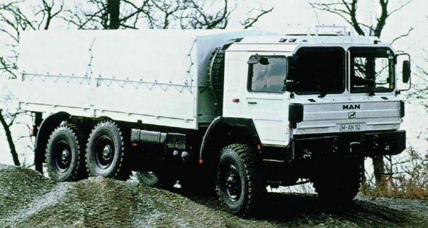 1987 MAN 25.372DFAEX (LX90), 6x6