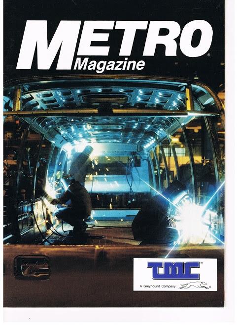 1987 METRO Magazine TMC MCI