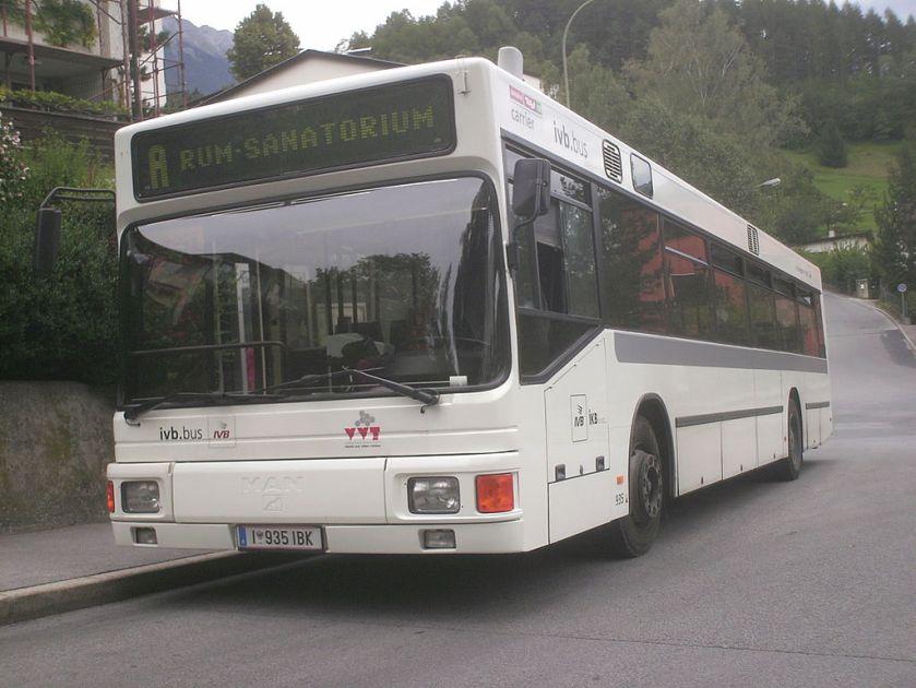 1989-92 MAN NL202 Wagen 935 6