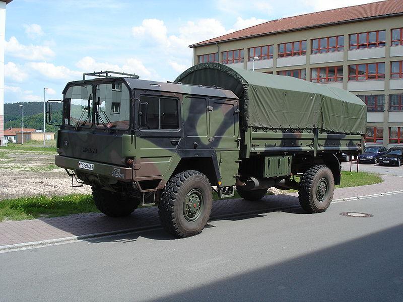 1990 Bundeswehr MAN 5to.gl