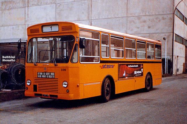 1991 Bus - FIAT 418 Ac Menarini  Atesina