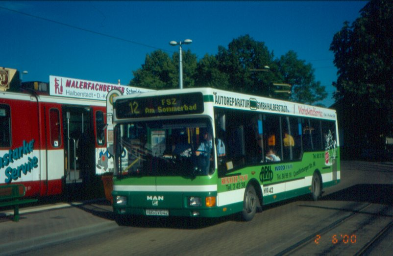 1993-99 Halberstadt-MAN-NM192-Bus42