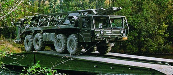 1993 MAN 36.422VFAE (SX90) chassis, 8x8, Leguan Bridgelayer