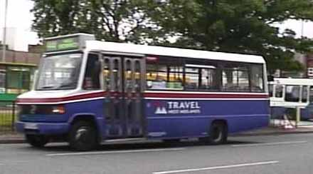 1993 Marshall C16 Mercedes Travel West Midlands