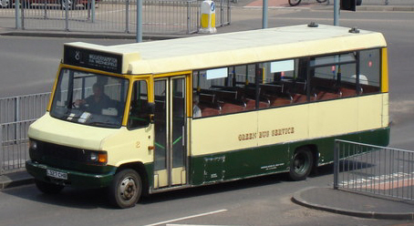 1993 Mercedes-Benz 811D (T2 Mk2) Marshall C16, Wolverhampton