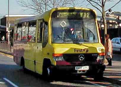 1993 Thamesway Mercedes O810D Marshall Originally Essex Buses 415 r415ypu
