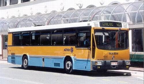 1995 Mack PR100-Ansair Bus 1995