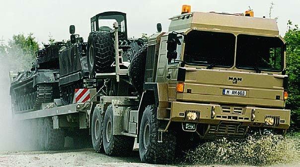 1996 MAN 40.633DFAETX (FX2000), 6x6