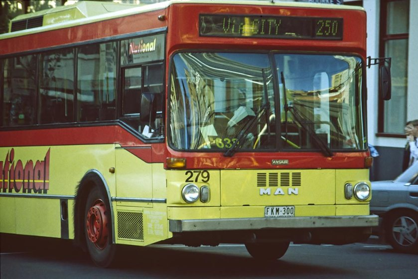 1997 Standardbus in Melbourne (Australien)