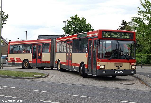 2 1990 MAN SG 242 Gelenkbus