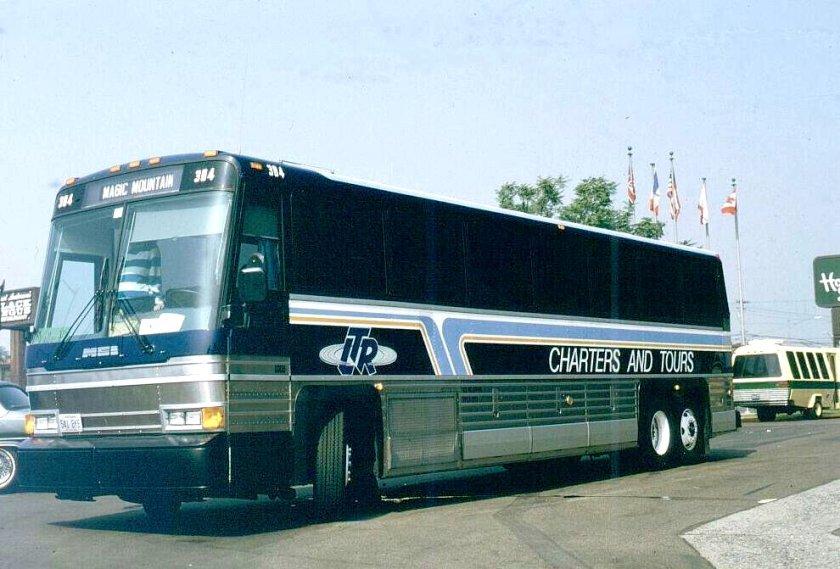 2000 MCI 102A3 LTR stage Line 384