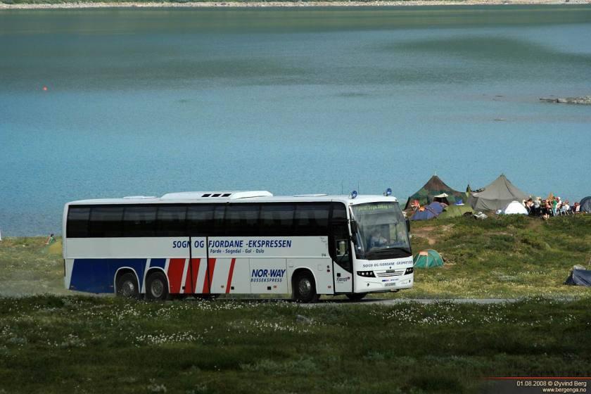2001 Scania K124EB Classic IV 360 6x2 Carrus Delta Oy