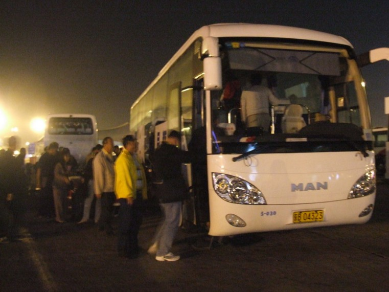 2002 Youngman-MAN Bus in Beijing