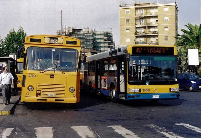 2003 Menarini 418 e un nuovo IRISBUS Cityclass 2003