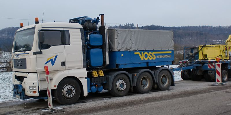 2004 MAN TGA 41.660 Voss
