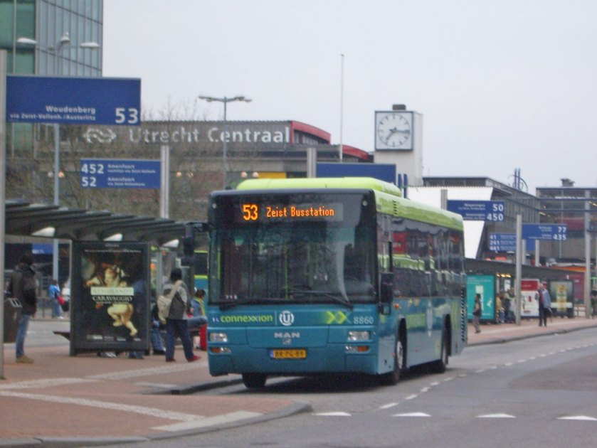 2005 MAN Lion's City TÜ in Utrecht (Niederlande)