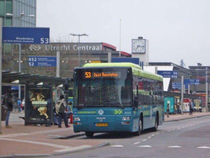 2005 MAN Lion's City TÜ in Utrecht (Niederlande)