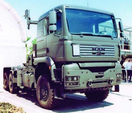 2006 MAN TGA 33.430BB, 6x6