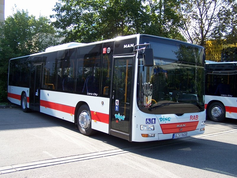 2008 MAN Überlandbus NÜ313