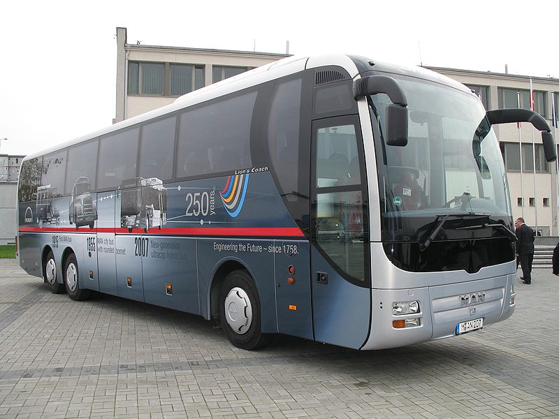 2008 MAN Fortuna Lions Coach in Kielce