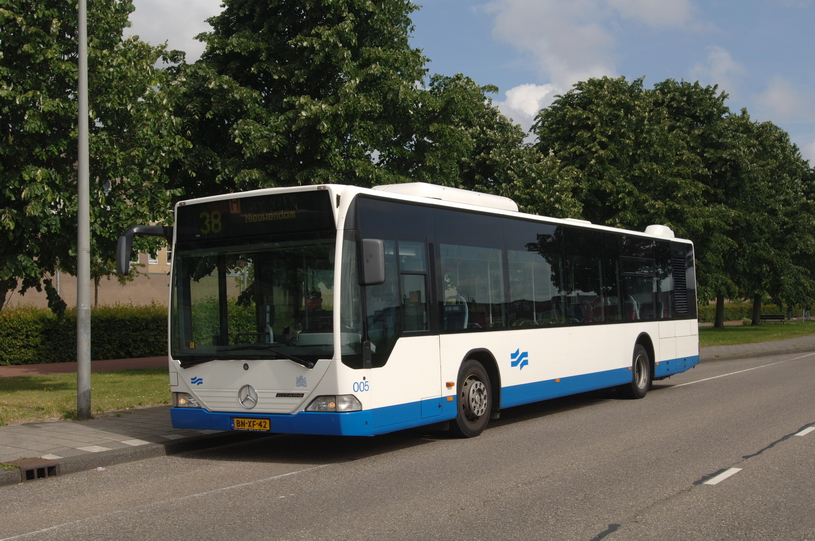 2008 Mercedes Benz Standardbus GVB A'dam