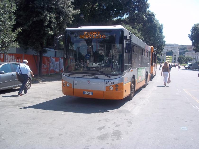 2009 BredaMenariniBus Vivacity AMT 4603