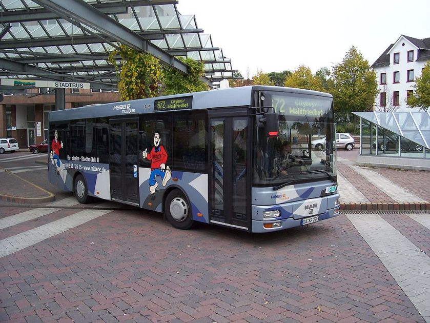 2009 MAN Göppel NM 223 in Bensheim