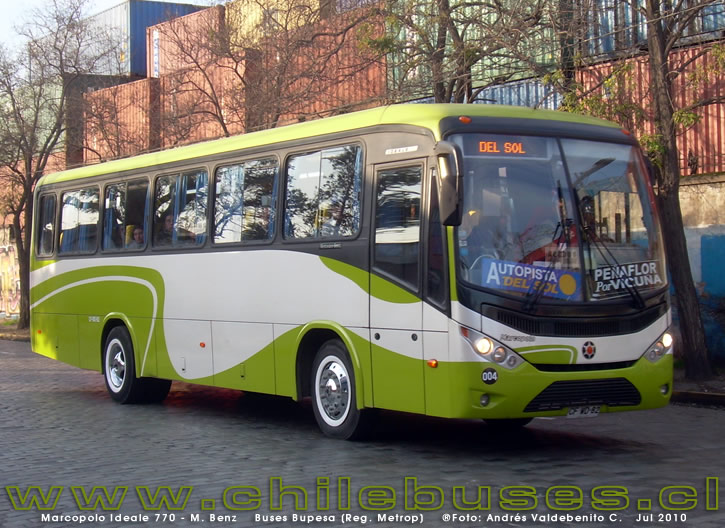 2010 Marcopolo Ideale 770 M. Benz