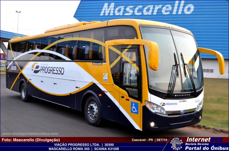 2011 Mascarello Roma 350  Scania K-310