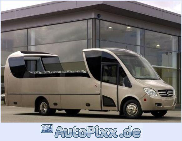 2011 Mercedes Benz Sprinter-Vip-luxus-omnibus-bus