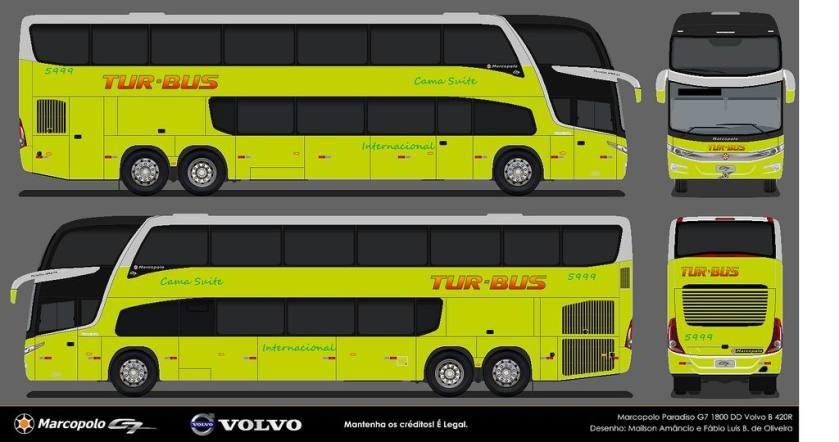 2012 Marcopolo Paradiso DD G7 Scania-Volvo-Mercedes