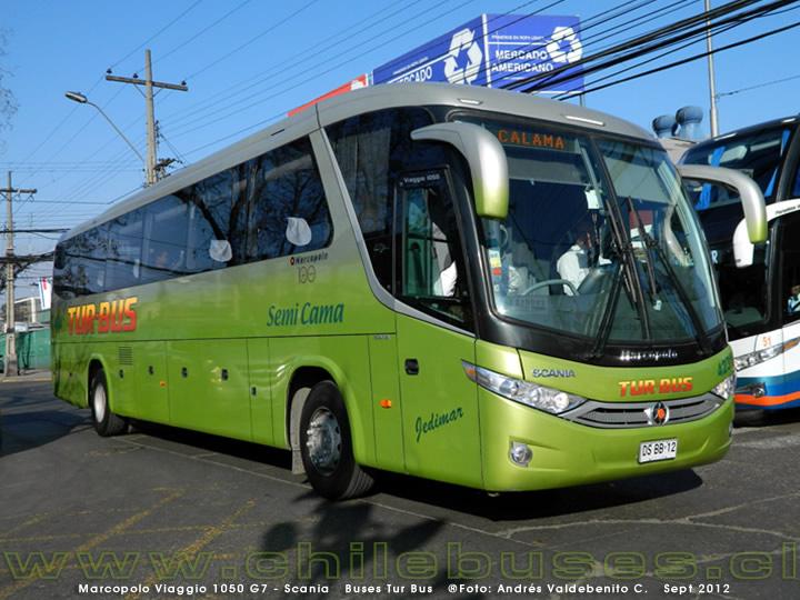 2012 Marcopolo Viaggio 1050 G7 - Scania