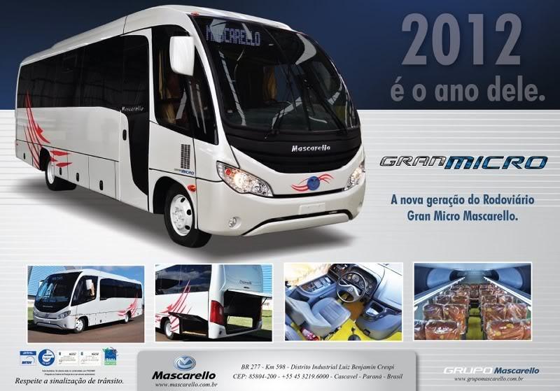 2012 Mascarello Gran Micro Rodovirio a