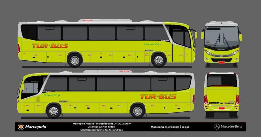 2013 Marcopolo Audace-M.Benz-Tur Bus Rural